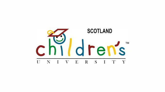 Children's university of Scotland logo